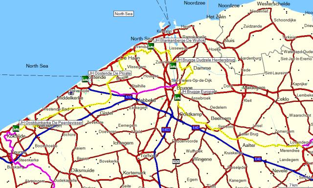 Dag 01 Gent – Oostduinkerke
