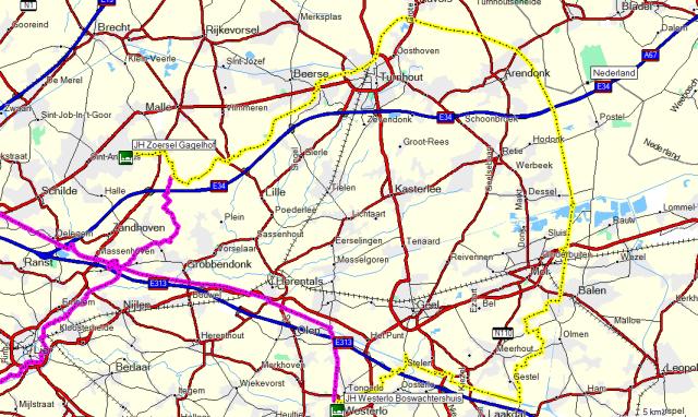 Dag 05 Westerlo – Turnhout - Zoersel