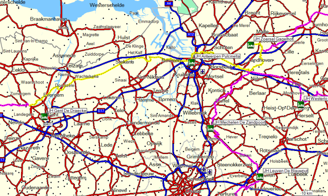 Dag 06 Zoersel – Antwerpen - Gent
