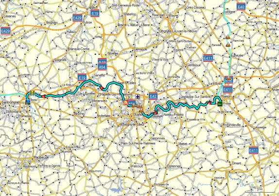 Dag 03 Namur - Mons