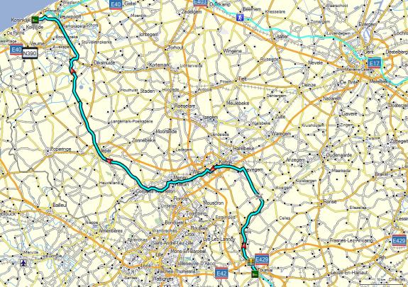 Dag 05 Tournai - Oostduinkerke