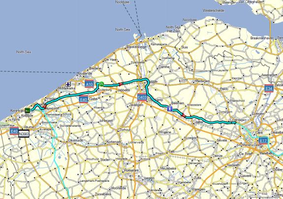 Dag 06 Oostduinkerke - Gent