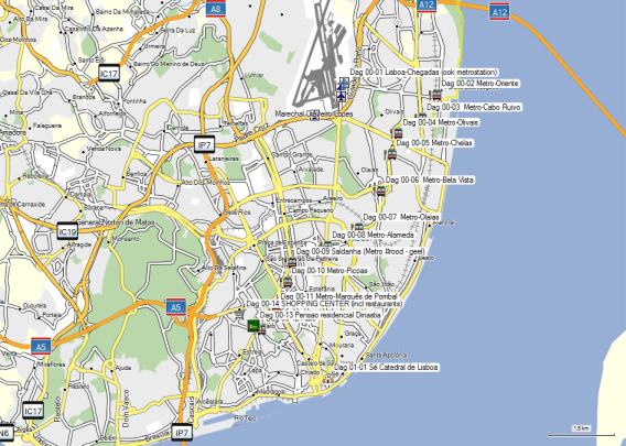 Dag 01 Lisboa (Detail)