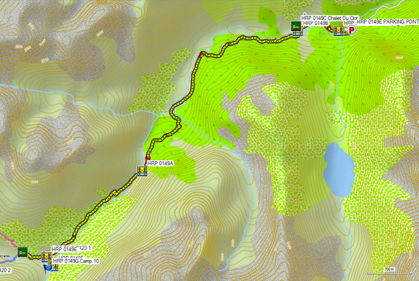 HRP14 PONT D'ESPAGNE - REF WALLON (approach)