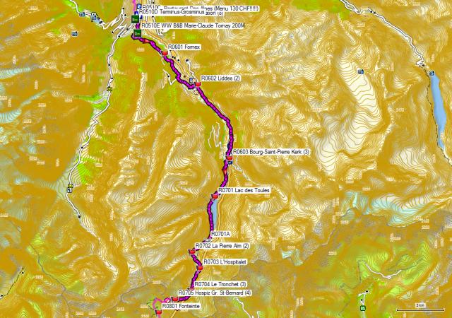 06-07 Orsières – Großer Sankt Bernhard-Pass