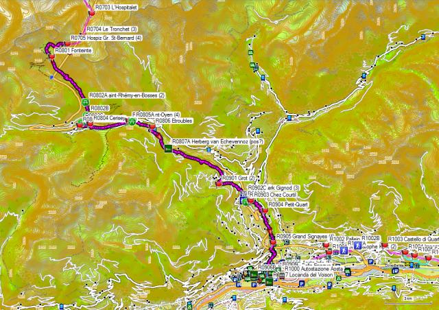 08-09 Großer Sankt Bernhard-Pass - Aosta