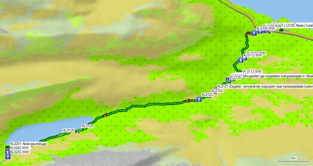 Dag KL01 Abisko – Abiskojaure Fjällstuga