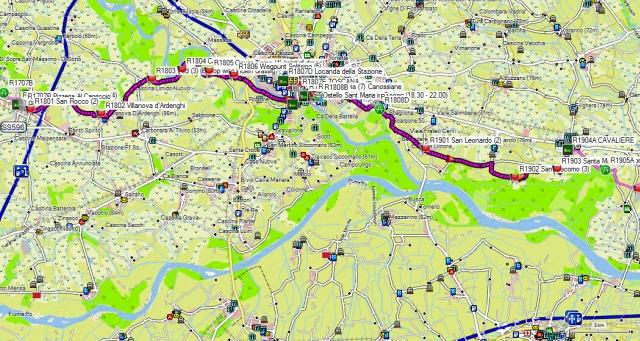 Dag 18-19 Gropello-Cairoli – Pavia - Belgioioso