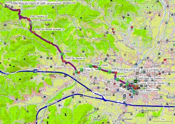 Dag 34 Valpromaro – Lucca