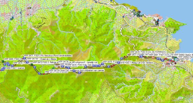 Dag HRP45 COL DE L'OUILLAT - BANYULS sur M (GR)