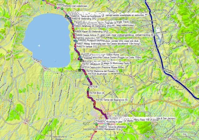 Dag 46-47 Bolsena – Montefiascone - Viterbo